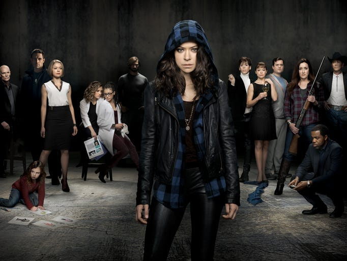 Clone Club, unite! Reacquaint yourselves with the many clones of 'Orphan Black,' all played by Tatiana Maslany. The sci-fi series returns for its second season on Saturday (BBC America, 9 p.m. ET/PT).