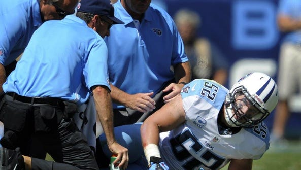 Injuries limited Colin McCarthy's NFL career to 36