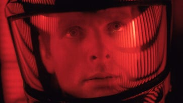 """Astronaut Dave Bowman (Keir Dullea) in director Stanley Kubrick's 1968 masterpiece """"2001: A Space Odyssey."""""""
