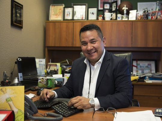 Sitel Director John Muñoz said his office door is always