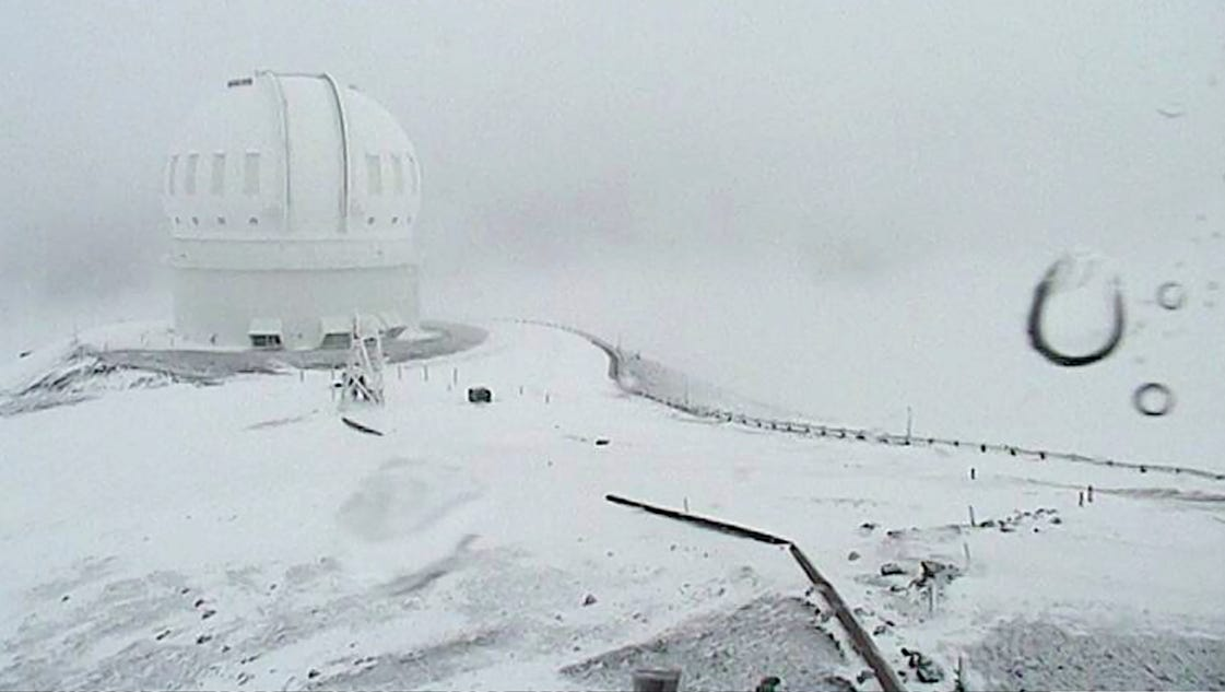 Hawaii Expected To Get 3 Feet Of Snow You Read That Right
