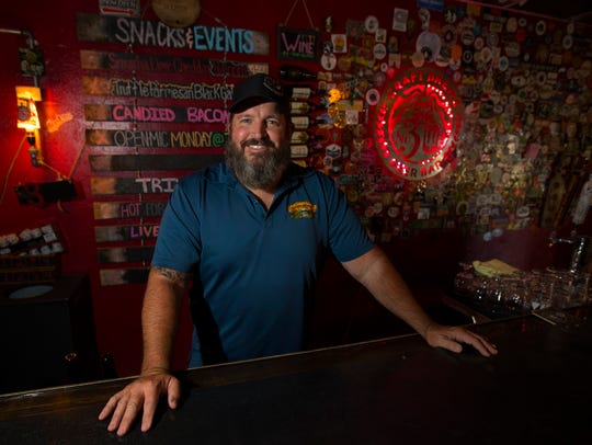Clint Thomas is the owner of No. 3 Craft Brews in Cape