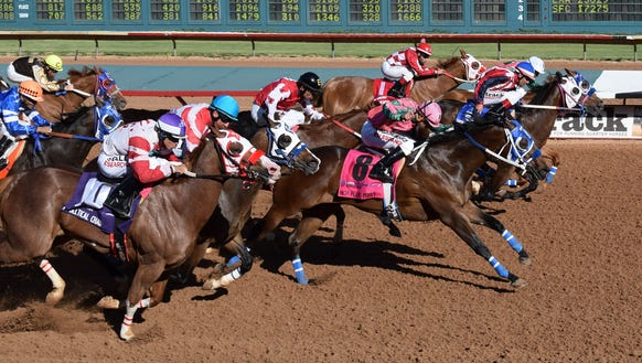 The Ruidoso Derby finished in a Dead Heat Saturday