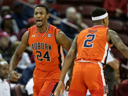 Anfernee McLemore Charleston Classic, Auburn Tigers vs. Temple Owls