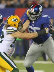 York's Will Beatty is now the next man up on the Philadelphia Eagles offensive line. He was a starter for the Giants for most of seven seasons before injuries knocked him down.