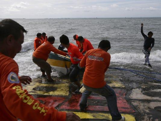 AP Philippines Ferry Collision