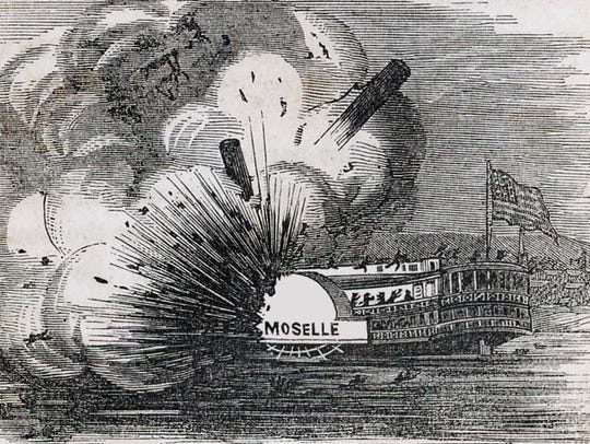 Today in History, April 25: Steamboat Moselle exploded on Ohio River