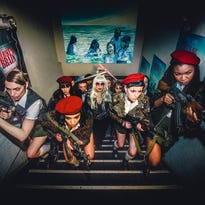 Campy dystopia in 'The Misandrists' doesn't spare graphic details