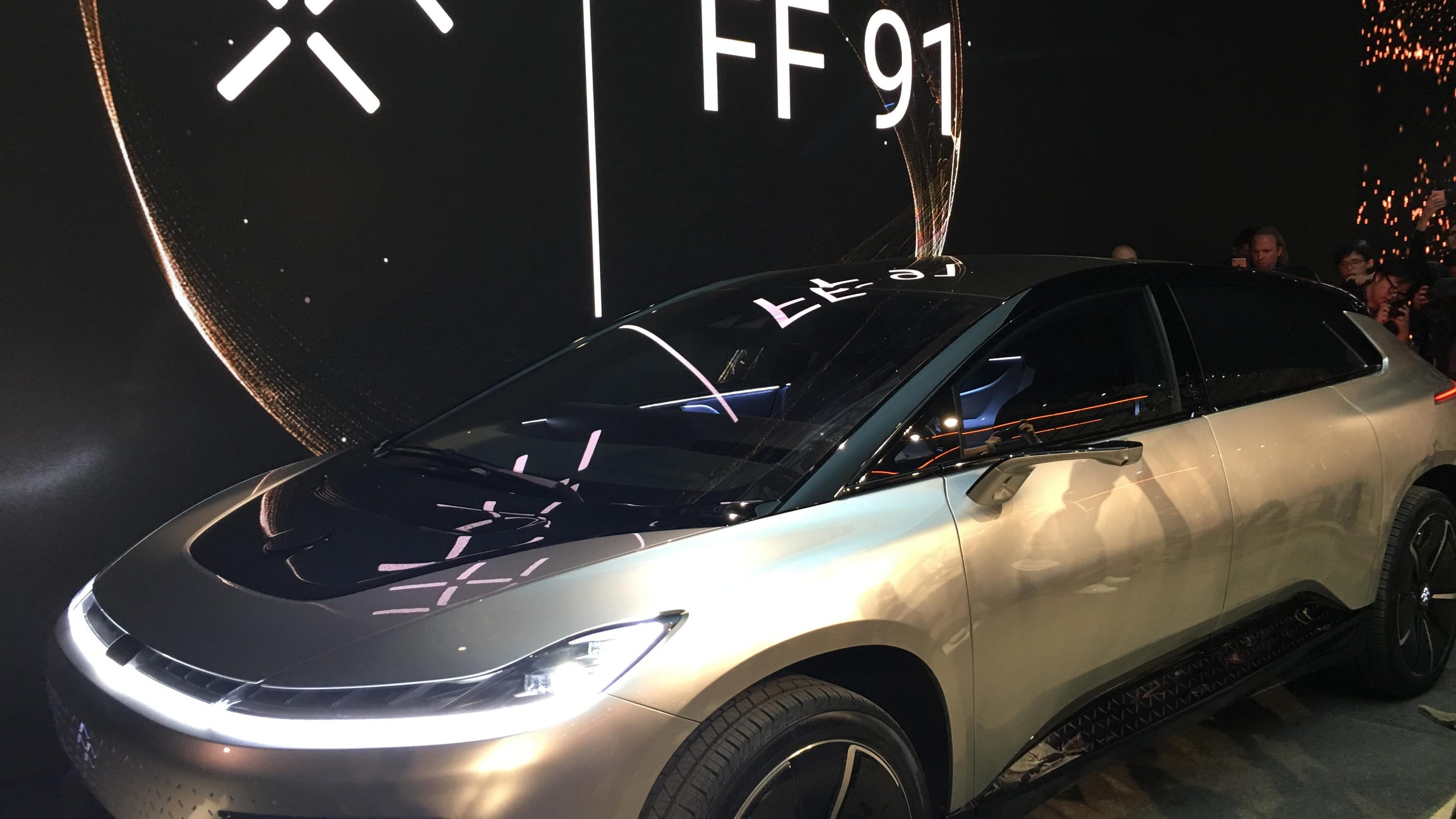 caa35e083a79 Faraday Future unveils FF 91 as  new species  (7.95 13)