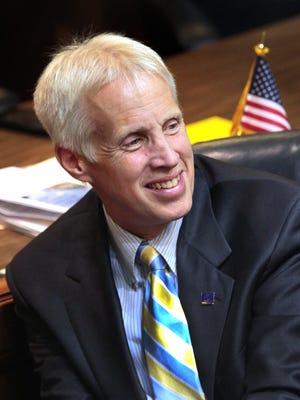 Rep. Bob Behning, R-Indianapolis, is chairman of the House Education Committee, which approved a bill to shorten the ISTEP exam.