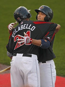 If the Twins decide to send 2013 IL MVP Chris Colabello back to Rochester, it certainly would give the Red Wings a boost.