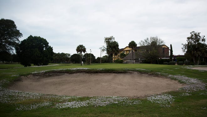 The golf course at Quality Inn & Suites Golf Resort in East Naples on Thursday, Dec. 8, 2016, is one of the several golf courses that owners are hoping to close to build something else.
