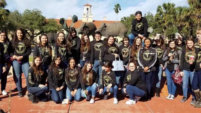 Members of St. John Paul II High School's Health Careers Club attended the Texas A&M Coastal Bend Health Center's 15th annual Future Health Professionals.  The conference was hosted at Texas A&M University-Kingsville Jan. 26, 2017.