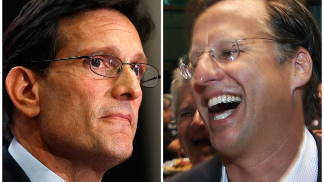 Rep. Eric Cantor, R-Va., suffered a shocking defeat by tea-party challenger Dave Brat. No big deal.