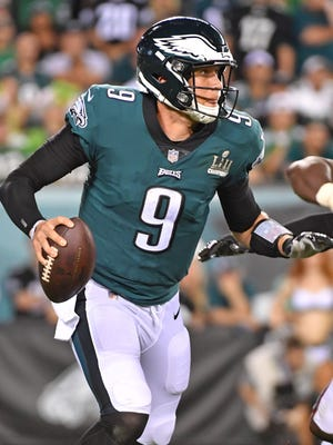 QB Nick Foles is trying to lead the Eagles back into the playoffs.