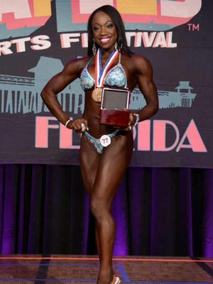 Tamika Williams qualified her for the Arnold Sports Festival in Columbus, Ohio in March.