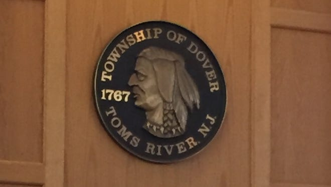 Toms River Township Seal, town hall.