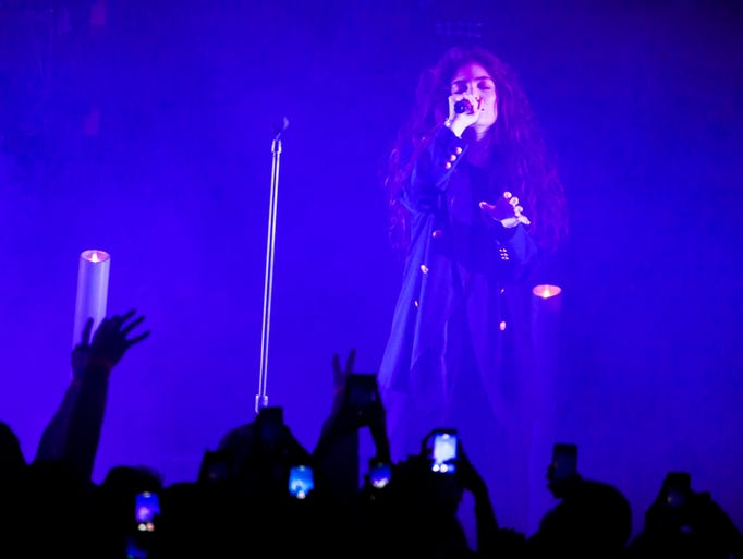 Lorde headlines at Comerica Theatre on Thursday, April 17 in Phoenix.