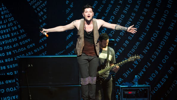 The Script performed before OneRepublic at Riverbend on August 5.