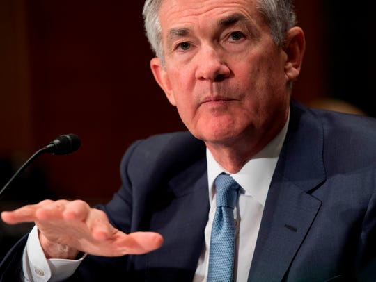Federal Reserve Board Chairman Jerome Powell testifies