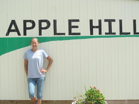 Anne Joudrey, owner, said she feels so fortunate to have the orchard and to be able to share the farm experience with others.