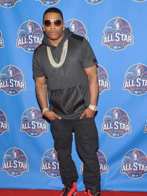 Rapper Nelly attends the 63rd NBA All-Star Game 2014 on Feb. 16, 2014 in New Orleans.