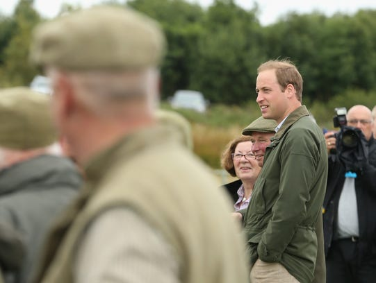 Prince William in Wales