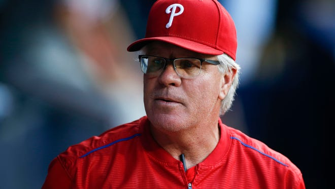 Philadelphia Phillies manager Pete Mackanin returned to the South Side Tuesday for the team's series opener against the White Sox at U.S. Cellular Field, located only 20 minutes from where Mackanin went to high school.