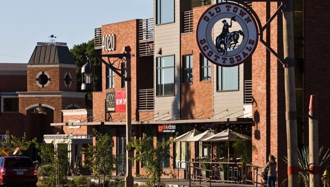 The Daily Dose Old Town Bar & Grill opened in 2009 at 4020 N. Scottsdale Road. The building also features residential lofts above the ground-floor commercial sites.