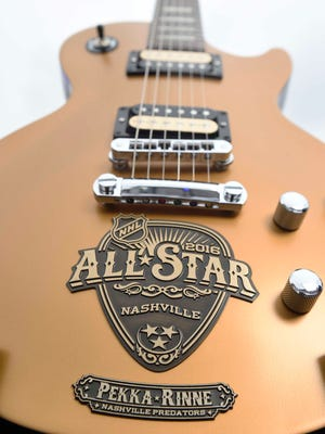 The NHL All-Star swag bag for coaches and players will include a personalized Gibson guitar.