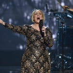 Adele performs at Radio City Music Hall in New York last year.