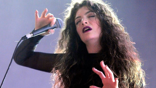Lorde performs  Dec. 8 in Los Angeles.