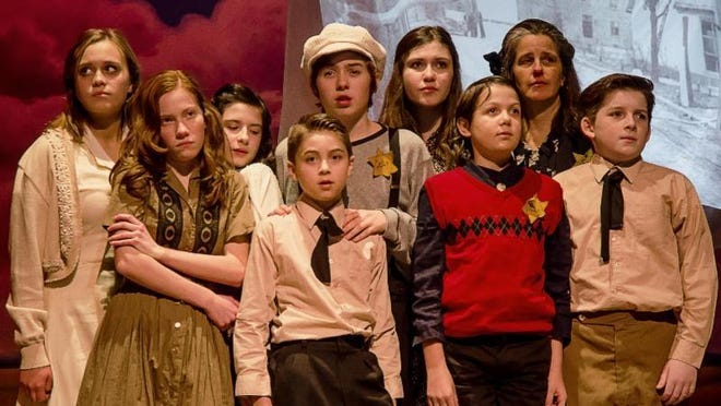 """Cast members of """"And Then They Came For Me; Remembering the World of Anne Frank"""" presented Feb. 5-7 at the Center for Performing Arts at Rhinebeck."""