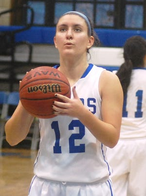 Hawthorne sophomore Sofia DiFilippo played her first season at point guard for the Lady Bears.