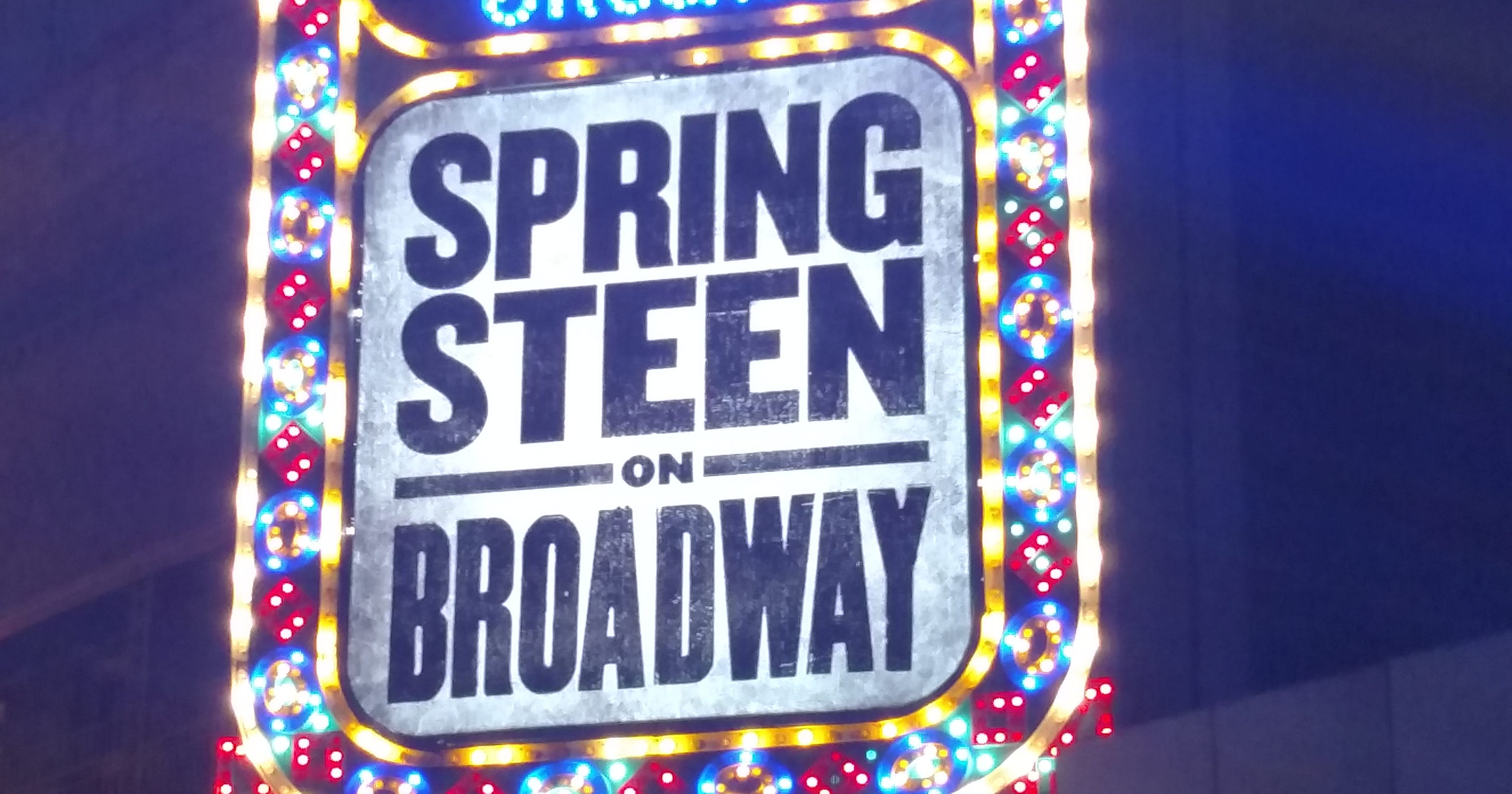 Bruce Springsteen on Broadway: Everything you need to know