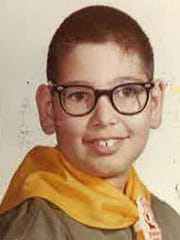 Pete Scarantino as a young Boy Scout.