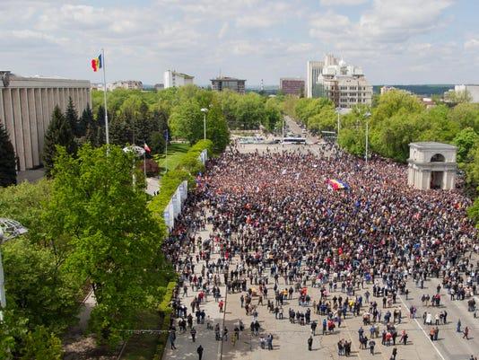 EPA MOLDOVA PROTEST POL CITIZENS INITIATIVE & RECALL MDA