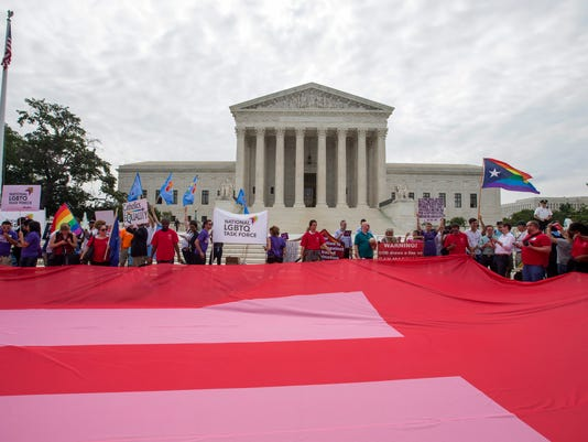 EPA USA SUPREME COURT GAY MARRIAGE CLJ JUDICIARY (SYSTEM OF JUSTICE) JUSTICE & RIGHTS USA DC