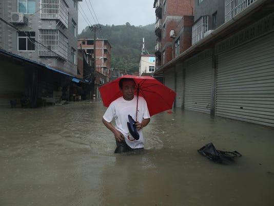 EPA CHINA WEATHER TYPHOON SOUDELOR DIS METEOROLOGICAL DISASTER CHN FU
