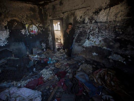 EPA MIDEAST ISRAEL PALESTINIANS CONFLICTS CLJ CRIME --- WE