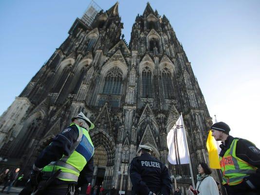 EPA GERMANY COLOGNE SEX ATTACKS CLJ CRIME DEU NO