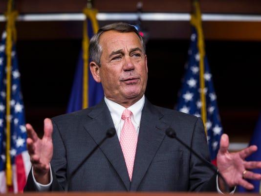 Republican Speaker of the House John Boehner Announces He is Retiring