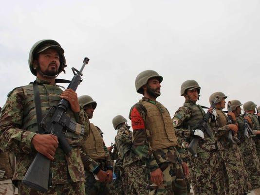 EPA AFGHANISTAN ANA GRADUATION WAR CONFLICTS (GENERAL) AFG