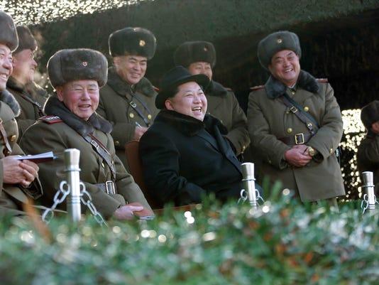 EPA FILE NORTH KOREA USA SANCTIONS WAR CONFLICTS (GENERAL) KOR PY