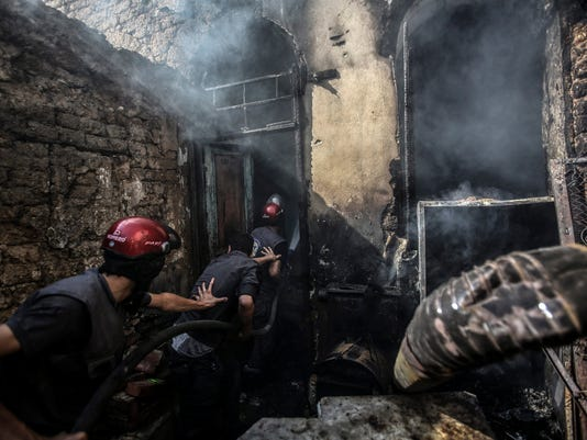 EPA SYRIA CONFLICT DOUMA AIRSTRIKES WAR CONFLICTS (GENERAL) ARMED CONFLICT SYR