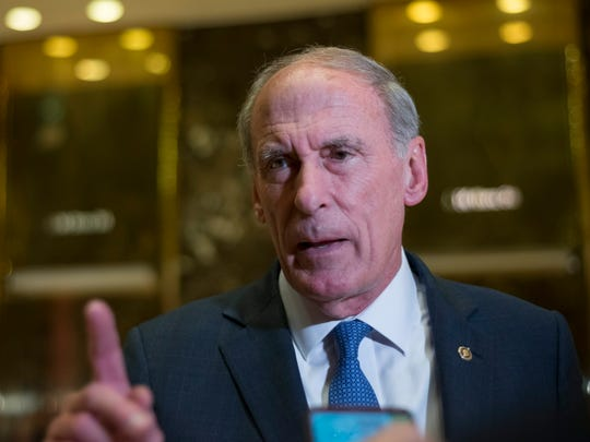 Former Indiana senator Dan Coats is Trump's choice