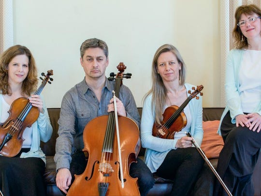 The Northern Third Piano Quartet performs Saturday
