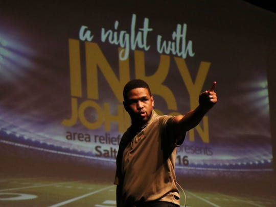 Inky Johnson, a former University of Tennessee football