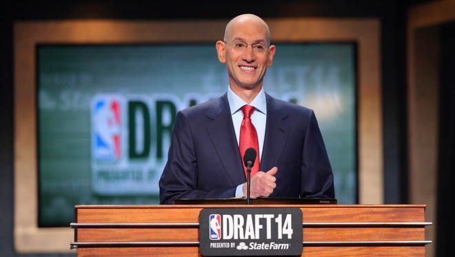The 2015 NBA draft will be held June 25, 2015. The Draft Lottery will take place May 19.
