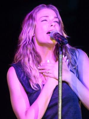 Country singer LeAnn Rimes